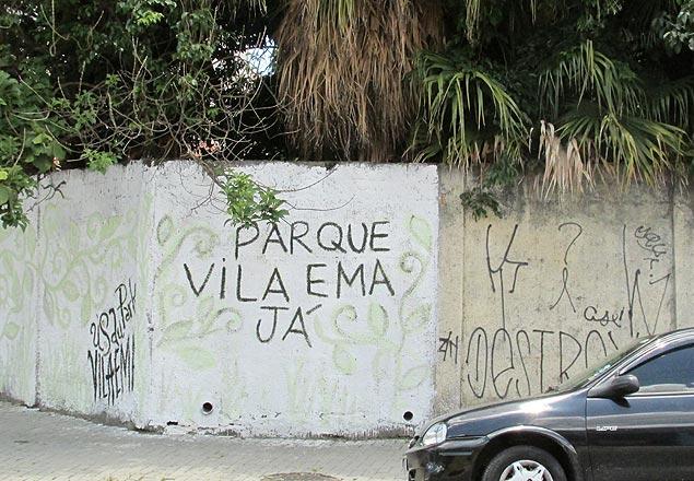 Área verde na avenida Vila Ema possui cerca de 17 mil m² e 400 árvores centenárias. Crédito: Aline Mariane