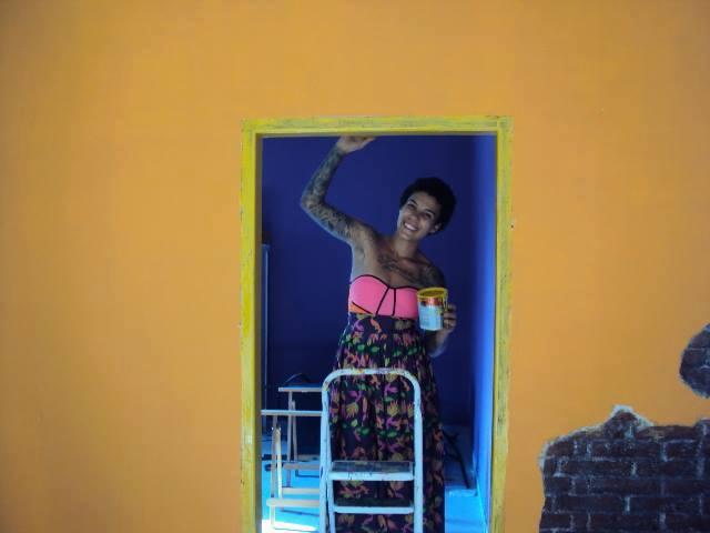 Manoela Pontes arruma a Casa das Crioulas