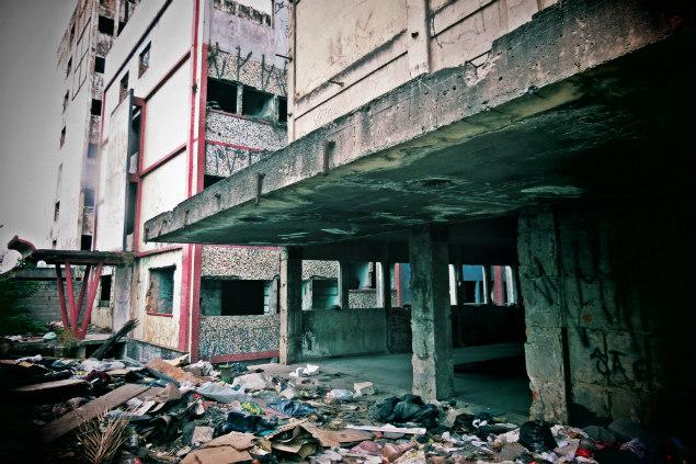 Hospital Vila Formosa, abandonado há 15 anos.