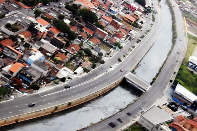 Vista aérea da av. Deputado Doutor José Aristodemo Pinotti. Foto: Vander Ramos