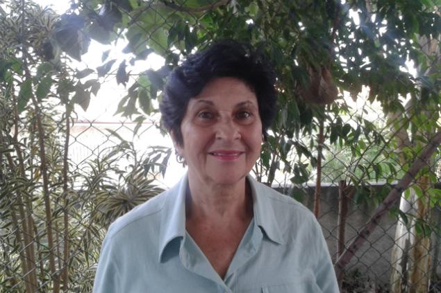Dona Clarice Macedo, 74, moradora da Casa Verde e recém-eleita para o Conselho Municipal do Idoso