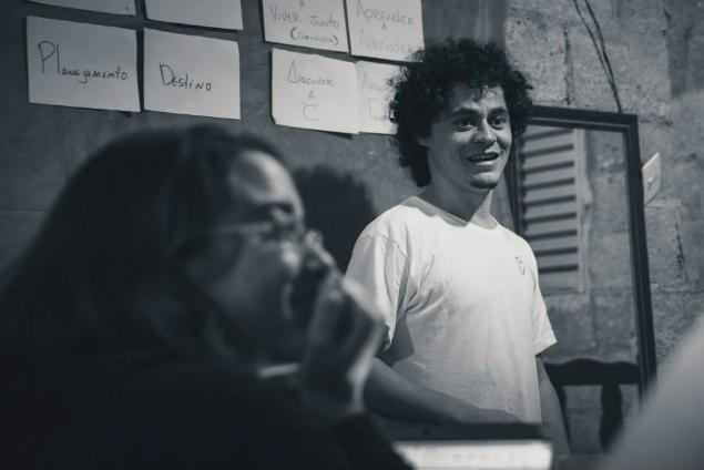 Os jornalistas Tony Marlon e Karol Coelho promovem vivência em comunicação no Campo Limpo