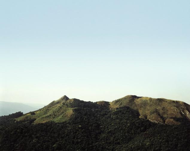 """Morros fazem parte da exposição """"Jaraguá"""", de Caio Reisewitz (Foto: Divulgação)"""