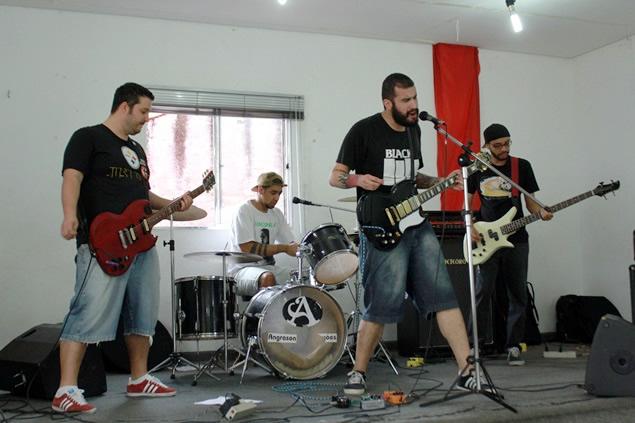 Banda_Wiseman se apresenta (Foto: Vander Ramos/Blog Mural)