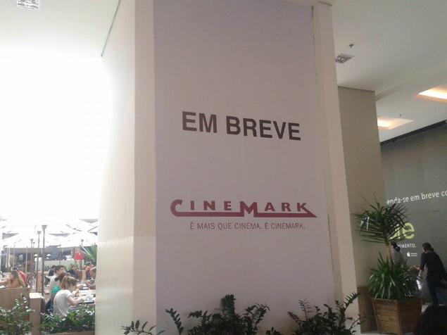 Novo complexo de cinemas de shopping de Mogi das Cruzes deve ser inaugurado no próximo ano. Foto: Marcos Perin/Divulgação