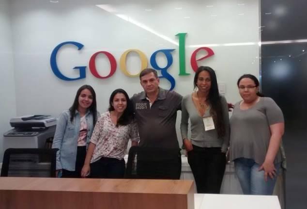 Os correspondentes Jéssica Souza, Bianca Pedrina, Vander Ramos, Narayhana Pereira e Carina Barros