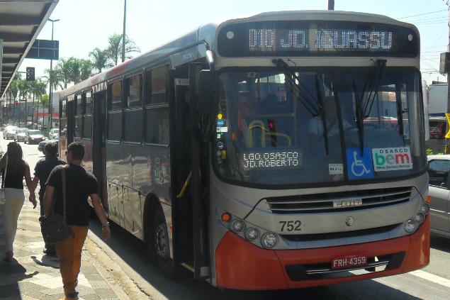 Ônibus da cidade de Osasco, na Grande São Paulo (Agência Mural)