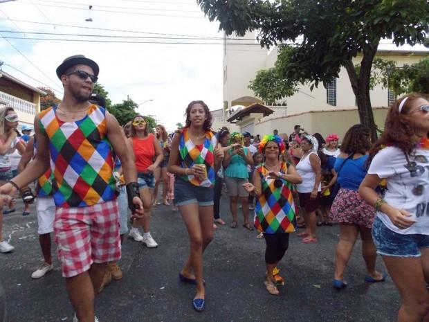 Bloco do Hercu desfila na região desde 2013 (Foto: Cintia Gomes/Blog Mural)