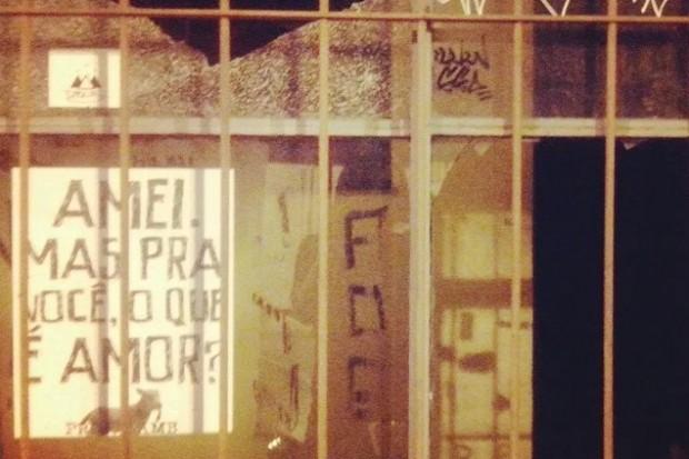 Lamb-lamb colado pelas ruas de Mogi das Cruzes / Foto: Reprodução Facebook - Raquel Almeida