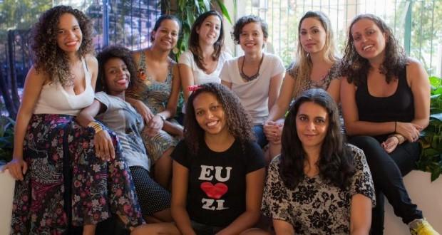 Integrantes do 'Nós Mulheres da Periferia'. Coletivo completa um ano (Foto: Divulgação)