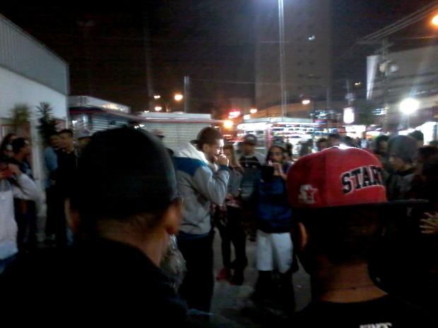 Cerca de 100 pessoas acompanharam as disputas (Foto: Paulo Talarico/Blog Mural)