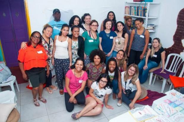 Mulheres participaram de oficinas na Casa das Criolas, em Perus. (Foto: Cláudia Souza)