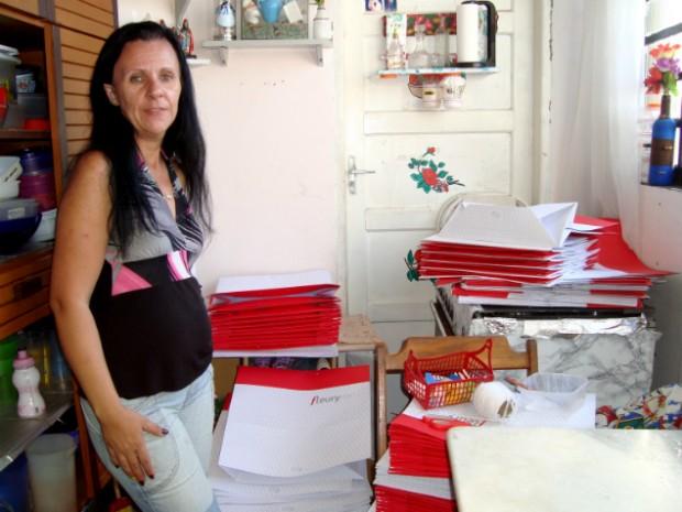 Patrícia Lodi Rodrigues buscou outras alternativas para complementar a renda
