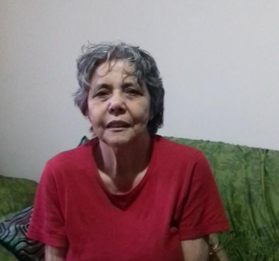 Lazara Zacarias, ainda vota porque quer mudanças para a cidade (Carina Barros/Folhapress)