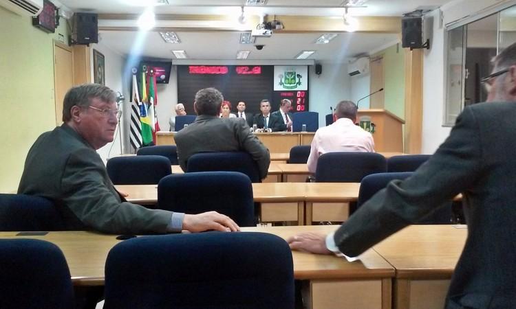 Dos 21 vereadores da Câmara, apenas sete não foram presos (Paulo Talarico/Folhapress)