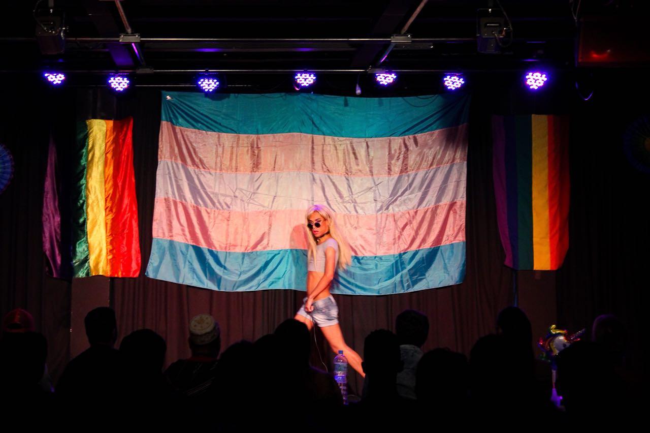Mogi das cruzes faz primeira parada lgbt com show de drag for Nas mural queens